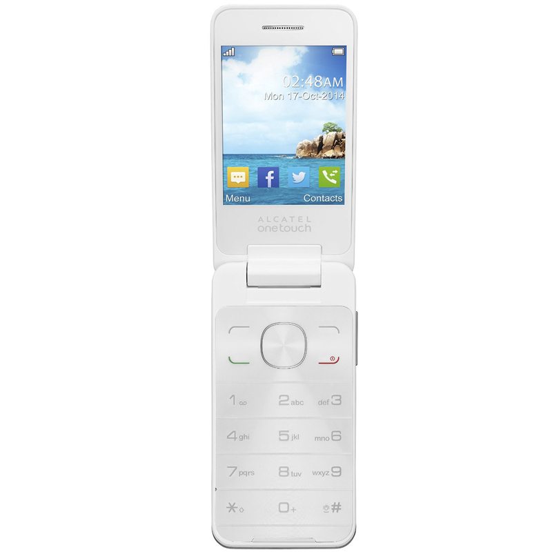 Alcatel One Touch 2012D Sesame II pure white Dual-SIM Handy